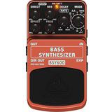 BEHRINGER Bass Effect Synthesizer [BSY600] - Bass Stompbox Effect